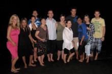 世界のWDリーダーたち @夜のビーチ