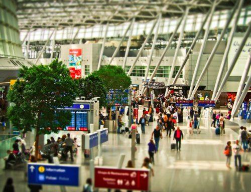 空港での過ごし方